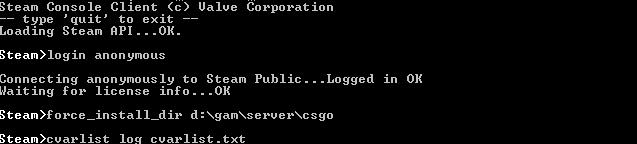 как создать сервер кс го